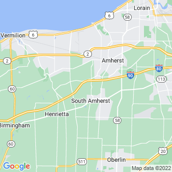 Amherst,oh- map, population, zip codes, coutnies, area codes, time zones, households, income, news, weather, metro areas, local time at localistica.com