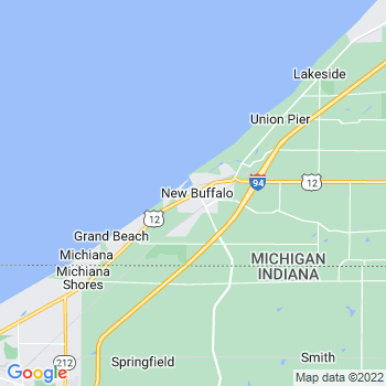 New Buffalo,mi- map, population, zip codes, coutnies, area codes, time zones, households, income, news, weather, metro areas, local time at localistica.com