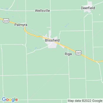 Blissfield,mi- map, population, zip codes, coutnies, area codes, time zones, households, income, news, weather, metro areas, local time at localistica.com
