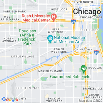 60608 Chicago,IL- map, population, zip codes, coutnies, area codes, time zones, households, income, news, weather, metro areas, local time at localistica.com
