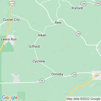 Gifford,pa- map, population, zip codes, coutnies, area codes, time zones, households, income, news, weather, metro areas, local time at localistica.com