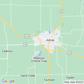 Adrian,mi- map, population, zip codes, coutnies, area codes, time zones, households, income, news, weather, metro areas, local time at localistica.com