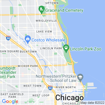 60614 Chicago,IL- map, population, zip codes, coutnies, area codes, time zones, households, income, news, weather, metro areas, local time at localistica.com