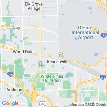 60106 Bensenville,IL- map, population, zip codes, coutnies, area codes, time zones, households, income, news, weather, metro areas, local time at localistica.com
