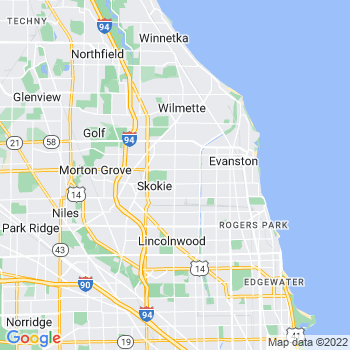Skokie,il- map, population, zip codes, coutnies, area codes, time zones, households, income, news, weather, metro areas, local time at localistica.com