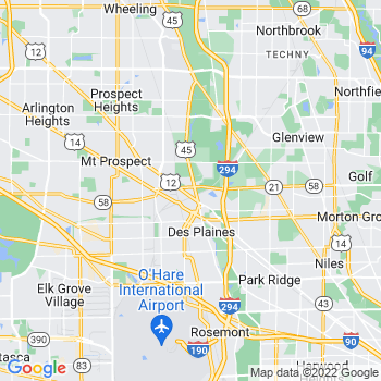 Des Plaines,il- map, population, zip codes, coutnies, area codes, time zones, households, income, news, weather, metro areas, local time at localistica.com