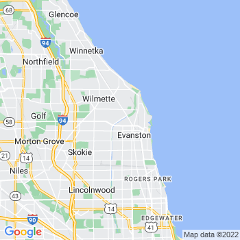 Evanston,il- map, population, zip codes, coutnies, area codes, time zones, households, income, news, weather, metro areas, local time at localistica.com