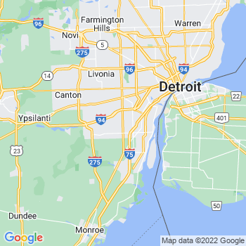 Detroit Warren Livonia, MI- map, population, zip codes, coutnies, area codes, time zones, households, income, news, weather, metro areas, local time at localistica.com