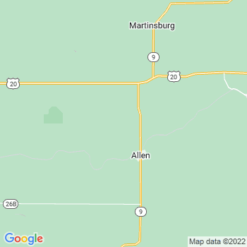 Allen,ne- map, population, zip codes, coutnies, area codes, time zones, households, income, news, weather, metro areas, local time at localistica.com
