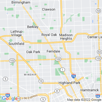 Ferndale,mi- map, population, zip codes, coutnies, area codes, time zones, households, income, news, weather, metro areas, local time at localistica.com