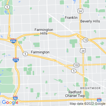 Farmington,mi- map, population, zip codes, coutnies, area codes, time zones, households, income, news, weather, metro areas, local time at localistica.com
