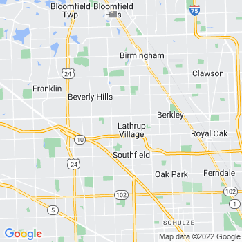 Southfield,mi- map, population, zip codes, coutnies, area codes, time zones, households, income, news, weather, metro areas, local time at localistica.com