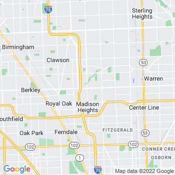 Madison Heights,mi- map, population, zip codes, coutnies, area codes, time zones, households, income, news, weather, metro areas, local time at localistica.com
