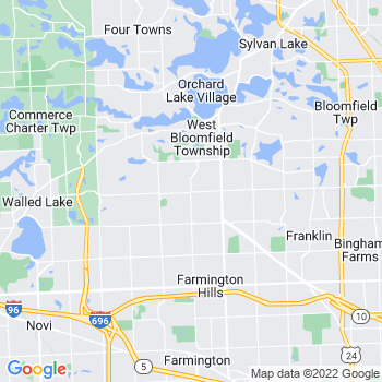 West Bloomfield,mi- map, population, zip codes, coutnies, area codes, time zones, households, income, news, weather, metro areas, local time at localistica.com