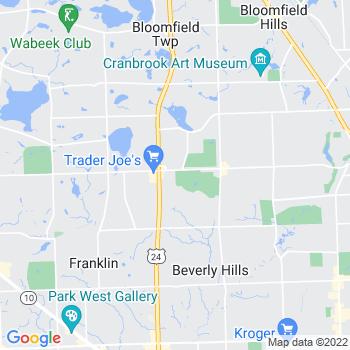 48301 Bloomfield Hills,MI- map, population, zip codes, coutnies, area codes, time zones, households, income, news, weather, metro areas, local time at localistica.com