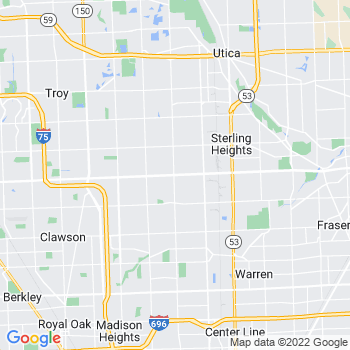 Sterling Heights,mi- map, population, zip codes, coutnies, area codes, time zones, households, income, news, weather, metro areas, local time at localistica.com