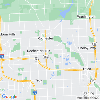 Rochester,mi- map, population, zip codes, coutnies, area codes, time zones, households, income, news, weather, metro areas, local time at localistica.com