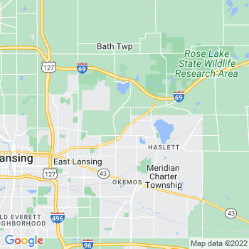 East Lansing,mi- map, population, zip codes, coutnies, area codes, time zones, households, income, news, weather, metro areas, local time at localistica.com