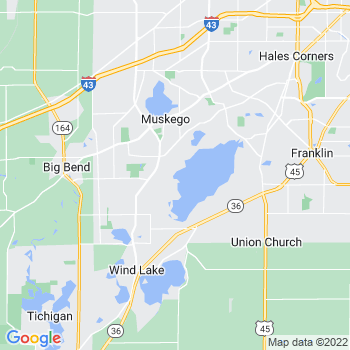 Muskego,wi- map, population, zip codes, coutnies, area codes, time zones, households, income, news, weather, metro areas, local time at localistica.com