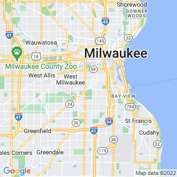 Milwaukee,wi- map, population, zip codes, coutnies, area codes, time zones, households, income, news, weather, metro areas, local time at localistica.com