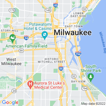 53204 Milwaukee,WI- map, population, zip codes, coutnies, area codes, time zones, households, income, news, weather, metro areas, local time at localistica.com