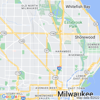 53206 Milwaukee,WI- map, population, zip codes, coutnies, area codes, time zones, households, income, news, weather, metro areas, local time at localistica.com