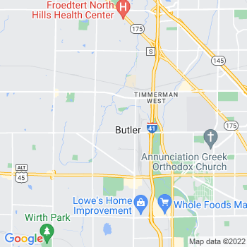 53007 Butler,WI- map, population, zip codes, coutnies, area codes, time zones, households, income, news, weather, metro areas, local time at localistica.com