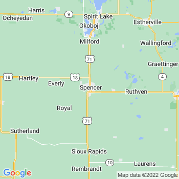 Spencer, IA- map, population, zip codes, coutnies, area codes, time zones, households, income, news, weather, metro areas, local time at localistica.com