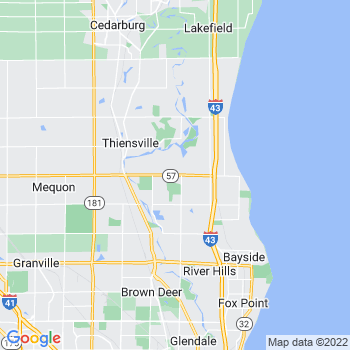 Thiensville,wi- map, population, zip codes, coutnies, area codes, time zones, households, income, news, weather, metro areas, local time at localistica.com