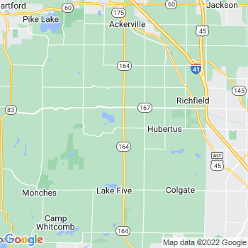 Hubertus,wi- map, population, zip codes, coutnies, area codes, time zones, households, income, news, weather, metro areas, local time at localistica.com