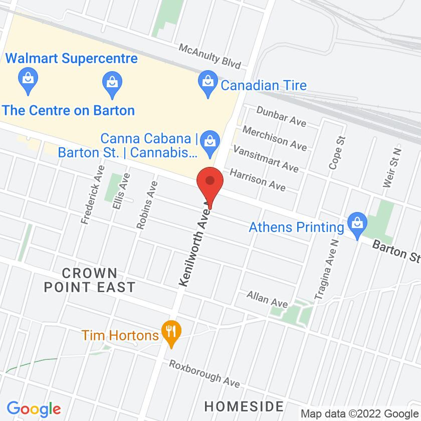 Google Map of The Parm House