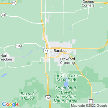 Baraboo,wi- map, population, zip codes, coutnies, area codes, time zones, households, income, news, weather, metro areas, local time at localistica.com