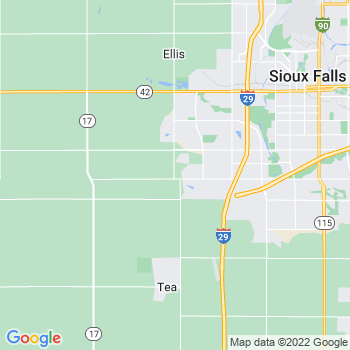 Sioux Falls,sd- map, population, zip codes, coutnies, area codes, time zones, households, income, news, weather, metro areas, local time at localistica.com