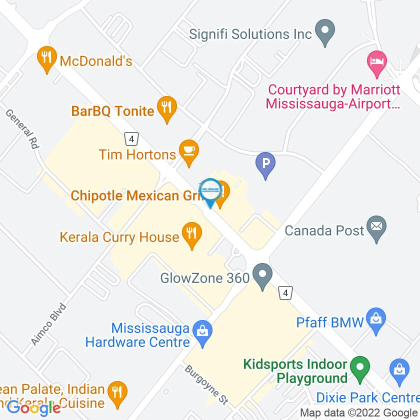 Google Map of Mr. Greek