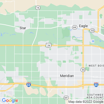 Meridian,id- map, population, zip codes, coutnies, area codes, time zones, households, income, news, weather, metro areas, local time at localistica.com
