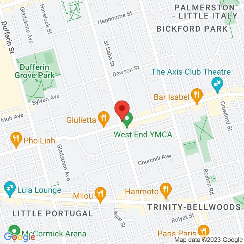 Google Map of Via Norte