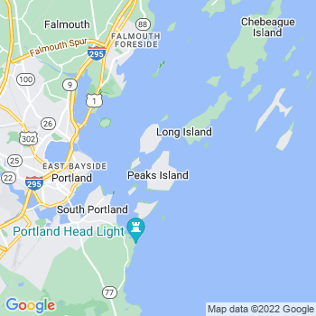 Peaks Island,me- map, population, zip codes, coutnies, area codes, time zones, households, income, news, weather, metro areas, local time at localistica.com