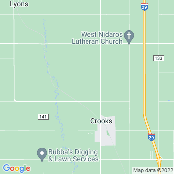 57020 Crooks,SD- map, population, zip codes, coutnies, area codes, time zones, households, income, news, weather, metro areas, local time at localistica.com