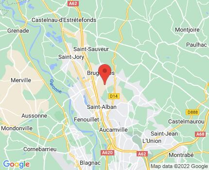France (Toulouse) map