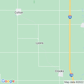 Lyons,sd- map, population, zip codes, coutnies, area codes, time zones, households, income, news, weather, metro areas, local time at localistica.com