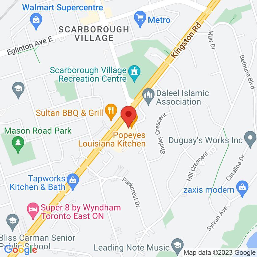 Google Map of Halibut House