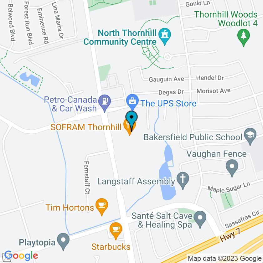 Google Map of Sofra