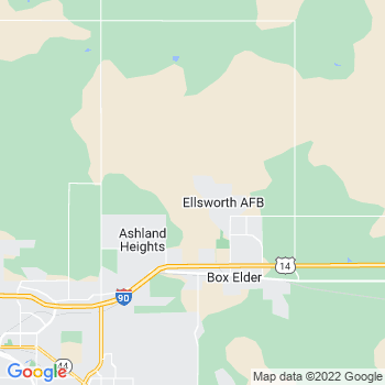 Ellsworth Afb,sd- map, population, zip codes, coutnies, area codes, time zones, households, income, news, weather, metro areas, local time at localistica.com