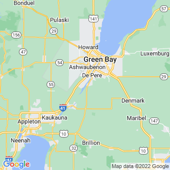 Green Bay, WI- map, population, zip codes, coutnies, area codes, time zones, households, income, news, weather, metro areas, local time at localistica.com