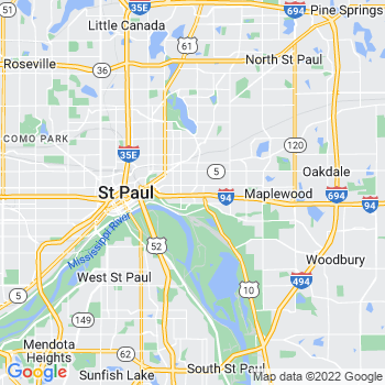 Saint Paul,mn- map, population, zip codes, coutnies, area codes, time zones, households, income, news, weather, metro areas, local time at localistica.com