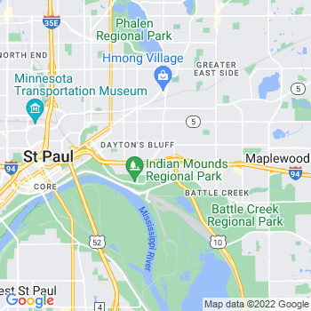 55106 Saint Paul,MN- map, population, zip codes, coutnies, area codes, time zones, households, income, news, weather, metro areas, local time at localistica.com