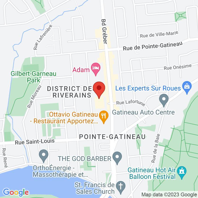 Google Map of Bistro des Alpes