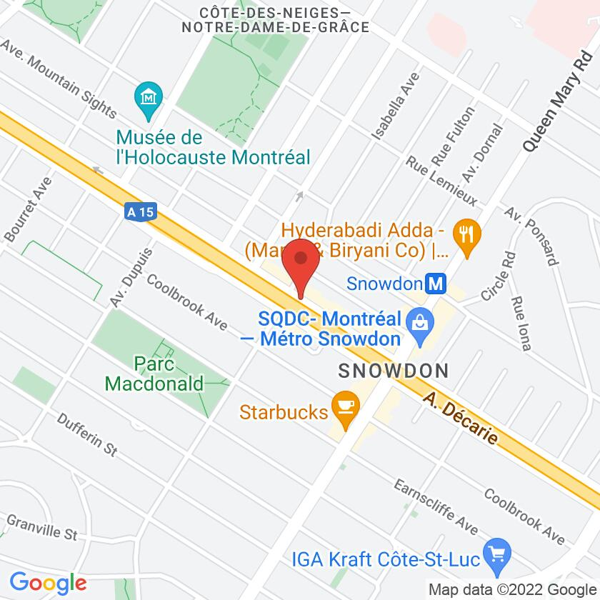 Google Map of Snowdon