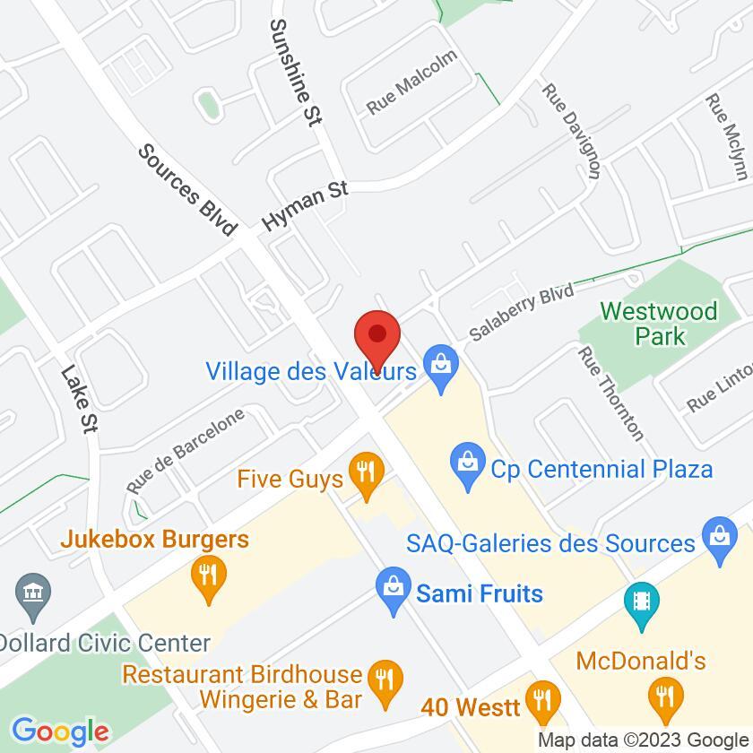 Google Map of Wok Cafe