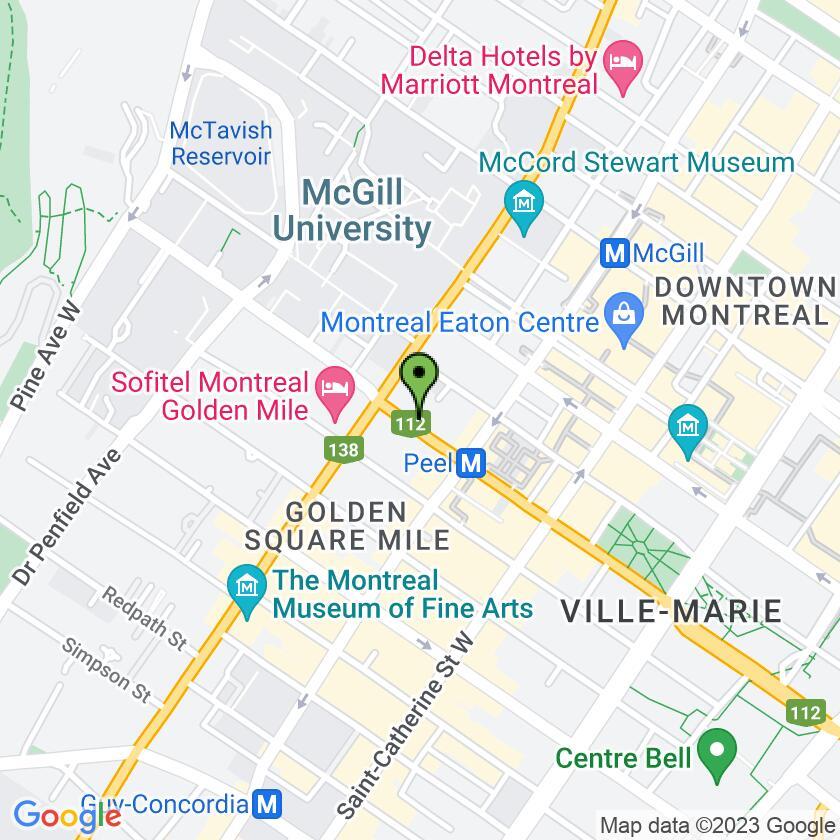 Google Map of Universel Déjeuners et Grillades